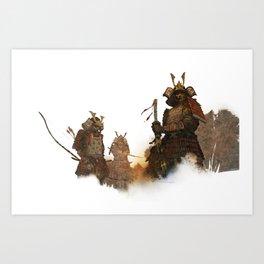 samurai2 Art Print
