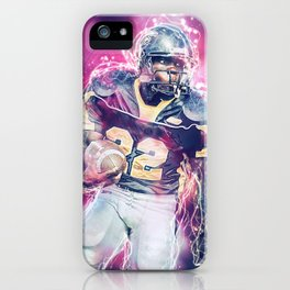 American Football Player iPhone Case