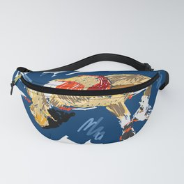 High Jumping Athlete Fanny Pack