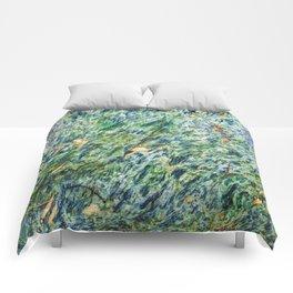 Ocean Life Abstract Comforters
