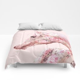 FLORAL HORSE Comforters