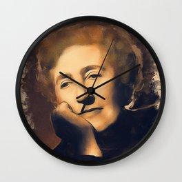 Agatha Christie, Literary Legend Wall Clock