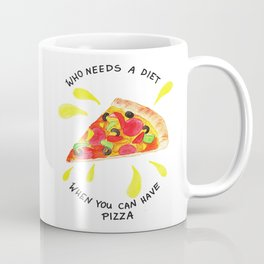 pizza is the best Coffee Mug