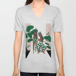 jungle Unisex V-Neck