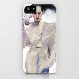 Flying out iPhone Case