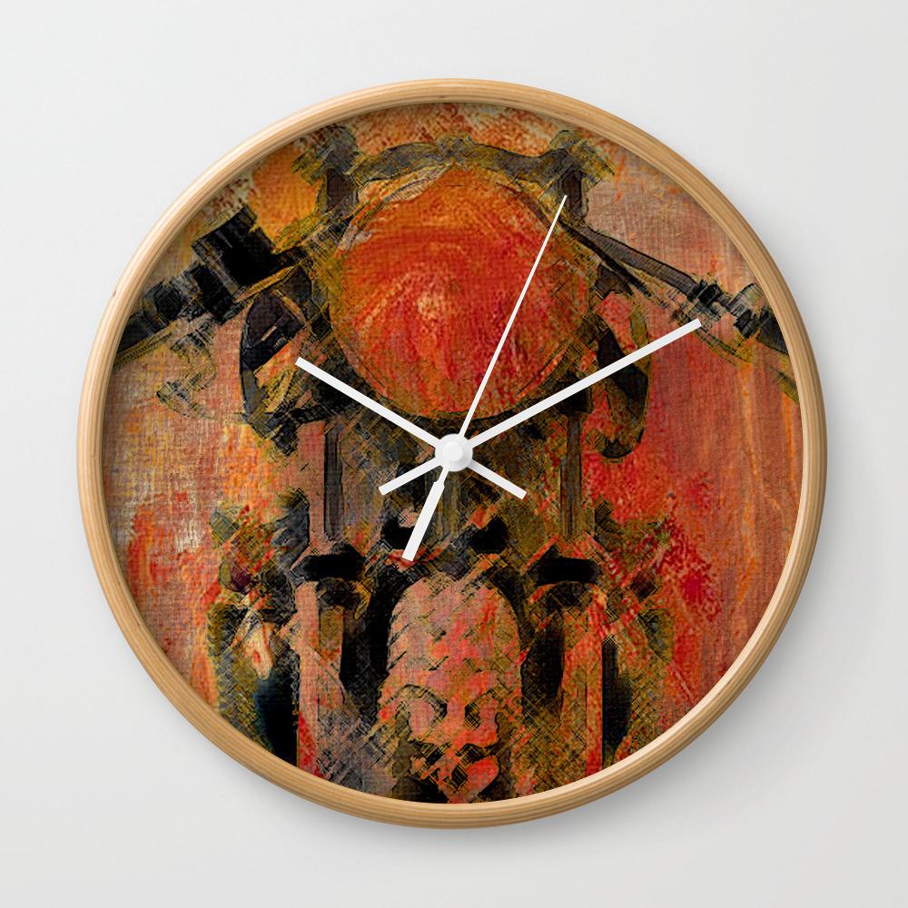 Cafe Racer Wall Clock by Fernandovieira CLK8091931