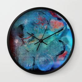 Dinnerparty abstract Wall Clock