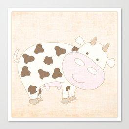 Cow Animal Farm Series Canvas Print