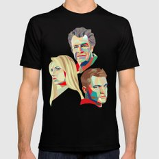 Walter, Peter, Olivia Black X-LARGE Mens Fitted Tee