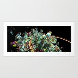 Everblue Room Art Print