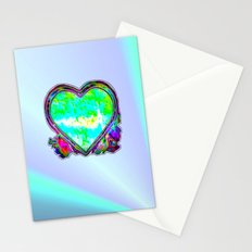 Melting Heart Stationery Cards