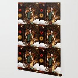 The steampunk lady Wallpaper