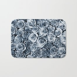 Blue Roses Bath Mat
