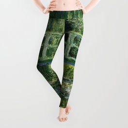 Water Lilies and the Japanese bridge - Claude Monet Leggings