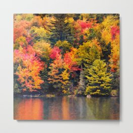 Autumn in New England Metal Print