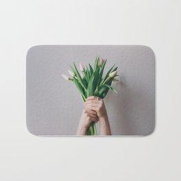 Yay Tulips! Bath Mat