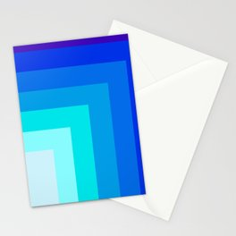 Square by square Stationery Cards