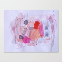 Whisper Pink Canvas Print
