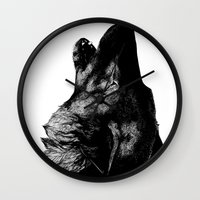 howl Wall Clocks featuring Howl by Victoria-Samantha