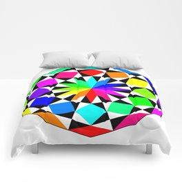 Dodecagon September 10 2017 Comforters