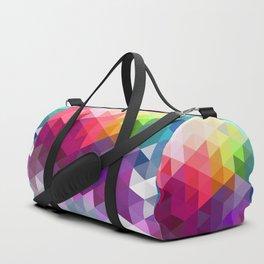 Pixel Prism Duffle Bag