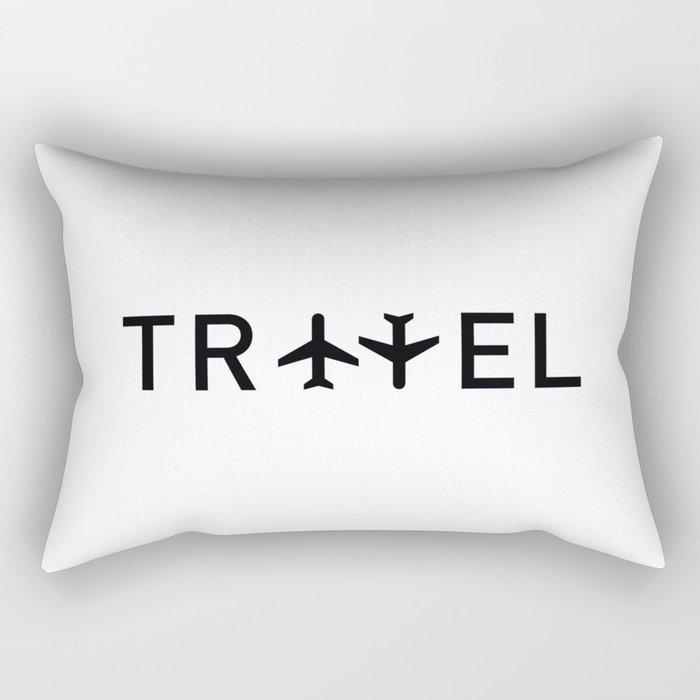 Travel and enjoy Rectangular Pillow