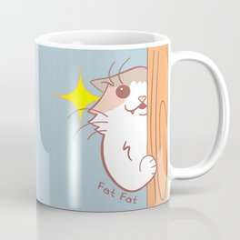 Fat Fat Peeks Coffee Mug