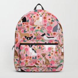 Chihuahua floral dog breed cute pet gifts for chiwawa lovers chihuahuas owners Backpack