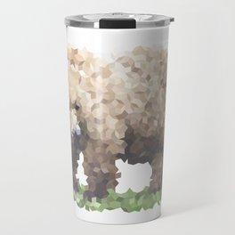 Penrose Tiling Bear Travel Mug