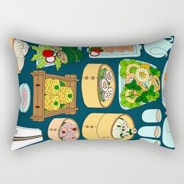 Dim Sum Lunch Rectangular Pillow