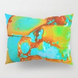 Orange to Blue Medley Pillow Sham