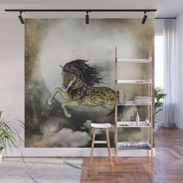 Awesome fantasy horse with skulls Wall Mural