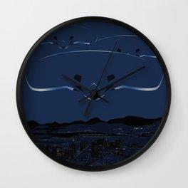 Phoenix Lights - Thursday, March 13, 1997 Wall Clock