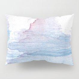 Lavender colorful wash drawing Pillow Sham