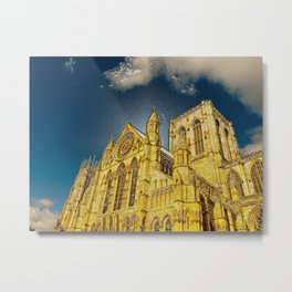 York Minster special effect Metal Print