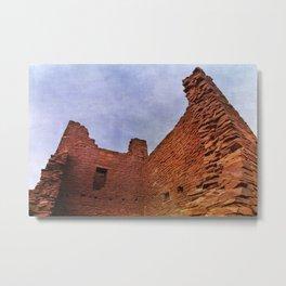Wupatki Pueblo Metal Print