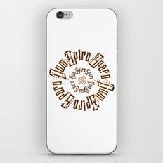 Dum spiro spero iPhone & iPod Skin