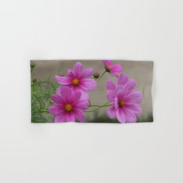 Pink Cosmo Daisies Hand & Bath Towel