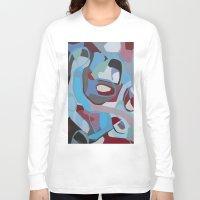coke Long Sleeve T-shirts featuring Cherry Coke by MadisonBlochArt