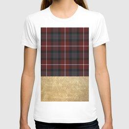 Golden Tartan T-shirt