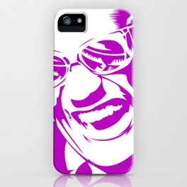 Ray Charles – Pink iPhone Case