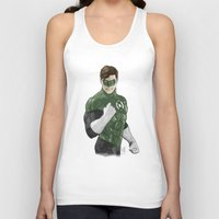 green lantern Tank Tops featuring Green Lantern by Alex Heuchert
