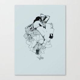 Paperwork Canvas Print