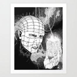 Pinhead Art Print
