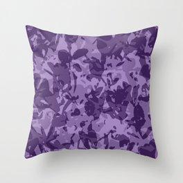 farba (violet) Throw Pillow