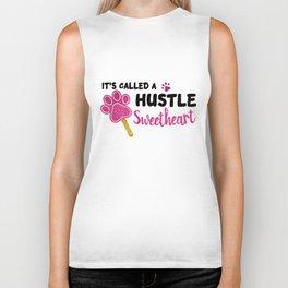 Its Called A Hustle Sweetheart Zootopia Glitter hustle Biker Tank