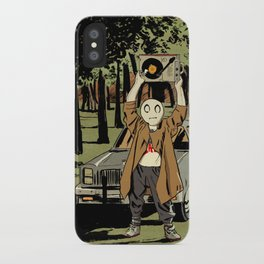Li'l Depressed Boy -- Kickboxing iPhone Case