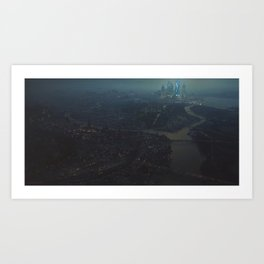 City of Haven Art Print