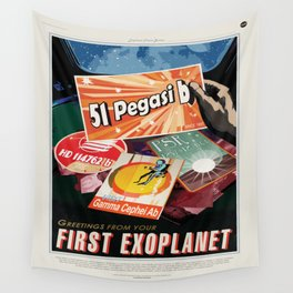 First Exoplanet Wall Tapestry
