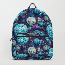 Geodesic space balls Backpack